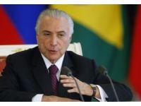 Brezilya Devlet Başkanına yolsuzluk suçlaması