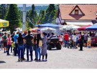 Uludağ'a Ramazan Bayramı'nda 100 bin ziyaretçi