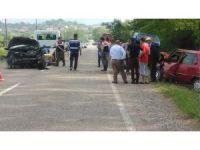 Çaycuma'da trafik kazası: 7 yaralı