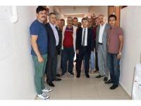 İl Müdürü Kenan Engin personellerin bayramını kutladı