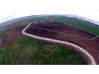 Münbit topraklar suya kavuşuyor