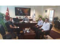 Başkan Yalçın'dan İller Bankası Bölge Müdürü Karaçam'a ziyaret