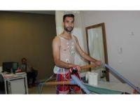 Karabükspor'da futbolcular sağlık kontrolünden geçti