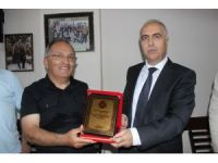 Vali Hasan Karahan, veda turları kapsamında Giresun'da gazetecilerle buluştu