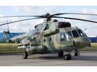 Rusya Pasifik filosu Mi-8MT helikopteri dokuz bin kilometre uçtu