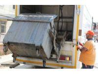 Toroslar'da çöp konteynerleri dezenfekte ediliyor