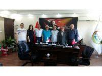 ASİMDER'den İl Genel Meclisi üyesi Oluz ve Yusufoğlu'na ziyaret