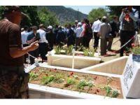 15 Temmuz Şehidi Polis Memuru Akif Altay mezarı başında anıldı