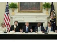 ABD Başkanı Trump, Beyaz Saray'da Cumhuriyetçi senatörleri ağırladı