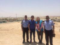 AK Partili Atay Uslu, Ürdün'de sığınmacı kamplarını inceledi