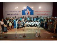 """Ahmet Yesevi Üniversitesinde """"III. Türk Dünyası Üniversiteli Gençler Yaz Okulu"""" projesi"""