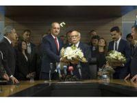 Nabi Avcı, Kültür ve Turizm Bakanlığı görevini Numan Kurtulmuş'a devretti