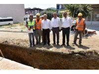 Salihli'nin dev projesi hızla ilerliyor