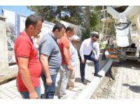 """Belediye Başkanı Yaşar Bahçeci: """"Altyapı ve yol çalışmalarına önem veriyoruz"""""""