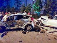 Tekirdağ'da feci kaza: 1 ağır yaralı