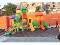 Siirt'te 30 yıllık hayvan pazarı yerine çocuk parkı yapıldı