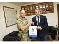 Albay Dere Başkan Çerçi'yi ağırladı
