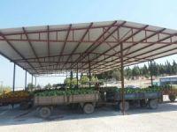 Gölmarmara'da yeni hal depoları faaliyette