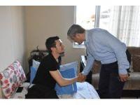 Nazilli protokolü gazi Ali Gezer'i ziyaret etti