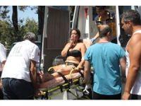 Tatilci anne ve kızı havuz başında klordan etkilenip hastanelik oldu