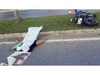 Antalya'da motosiklet kazası: 1 ölü