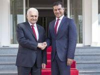 Başbakan Yıldırım, KKTC Başbakanı Özgürgün ile görüştü