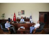 Giresun Üniversitesi Rektörü Prof. Dr. Çoşkun'dan ARÜ'ye ziyaret