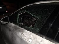 AK Parti İlçe Başkanının aracına saldırı