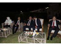 KKTC Cumhurbaşkanı Akıncı, eşi ile resepsiyon verdi