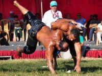 Sorgun'da geleneksel yağlı güreşlere yoğun ilgi