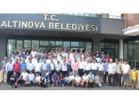 Semih Turgut için Altınova'da tören