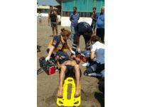 Serinlemek için denize giren genç kadın boğuldu