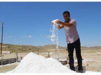 Sivas'tan İspanya'ya doğal kaynak tuzu