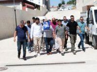 Elazığ'da FETÖ operasyonu: 10 şüpheli adliyeye sevk edildi