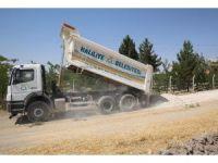 Haliliye Belediyesi yol çalışmalarını sürdürüyor