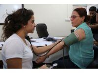 Cizre Belediyesi personeli sağlık taramasından geçirildi