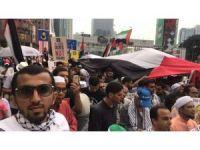 Malezya'dan Mescid-i Aksa protestosu