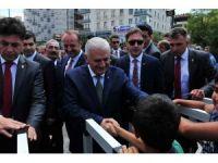 Başbakan Yıldırım, cuma namazını Mamak Yeni Merkez Camii'nde kıldı