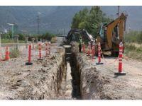 Akşehir'in mahallelerine yeni kanalizasyon şebekesi