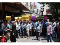 Gaziantep'te Mescid-i Aksa protestosu