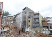 Çömlekçi 2. etap kentsel dönüşüm alanında yıkılan bina sayısı 15'e ulaştı