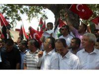 Osmaniye'de İsrail protesto edildi