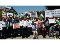 Karamanlı STK'lardan İsrail'e Mescid-i Aksa protestosu