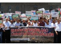 Güneydoğu'da İsrail protestoları