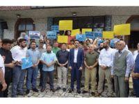 Fatsa'dan İsrail'e tepki