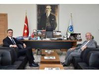 Cumhuriyet Başsavcısı Sekücü Başkan Albayrak'la vedalaştı