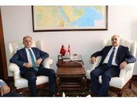 Trabzonspor Başkanı Muharrem Usta, Düzce'de