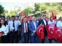 """Tunceli'de """"Terörü Protesto Yürüyüşü"""""""