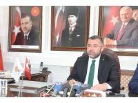 """AK Parti Başkanı Keskin """"Haksız eleştiriler"""""""
