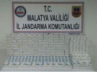 Malatya'da 2 bin karton kaçak sigara ele geçirildi